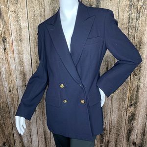 Ralph Lauren Blazer Suit Jacket 100% Worsted Wool